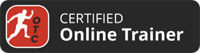 certified online trainer badge