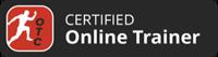 certified online trainer badge
