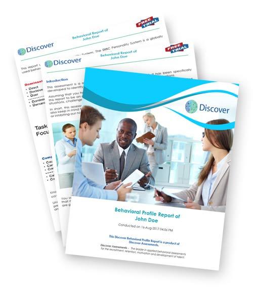discover behavior assessment brochure cover